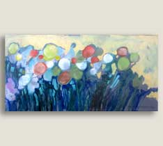 Wonder Garden 12x24 Canvas